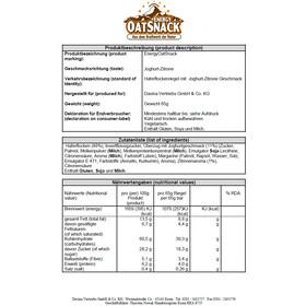 Energy OatSnack Bar 65/70g Joghurt-Lemon